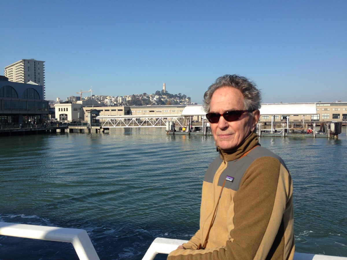 Coming on to the Ferry building in San Francisco