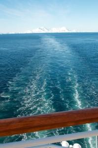 Deception Island as we depart