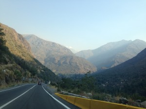 Andes pass